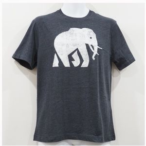 BANANA REPUBLIC MEN'S ELEPHANT LOGO GRAPHIC TEE S